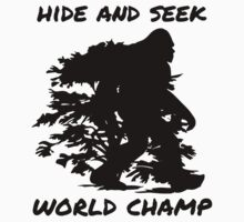 Hide And Seek World Champ by Glenov-Store