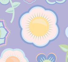 Abstract Floral Pattern  Sticker