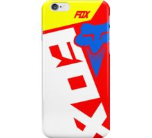 Motocross shiv red iPhone Case/Skin