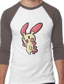 plusle Men's Baseball ¾ T-Shirt