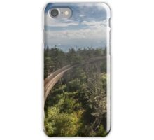 Ramp at Clingmans Dome in the Great Smoky Mountains iPhone Case/Skin