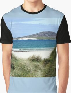 Immaculate Sands - Seilebost and Luskentyre Beaches Graphic T-Shirt