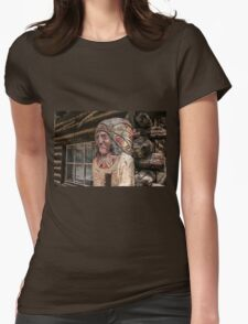 Cigar Store Womens Fitted T-Shirt