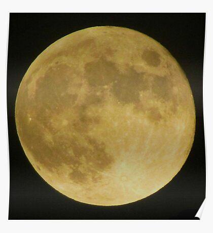 ooh lala moon Poster