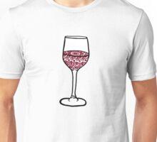 Mandala Wine Unisex T-Shirt
