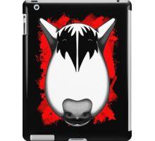 Kiss Bull Terrier Gene Simmons  iPad Case/Skin