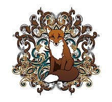 Regal Fox Spirit Animal Totem  Photographic Print