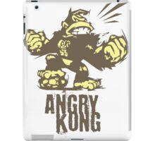 angry kong iPad Case/Skin