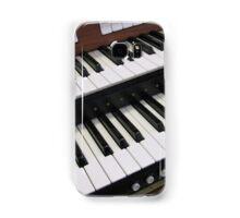 Rows of Keys - Section of Organ Keyboard Samsung Galaxy Case/Skin