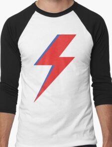 Aladdin Sane - Lightning bolt Men's Baseball ¾ T-Shirt