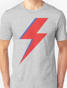 Aladdin Sane - Lightning bolt T-Shirt