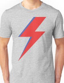 Aladdin Sane - Lightning bolt Unisex T-Shirt