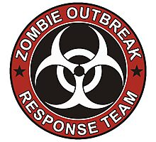 Zombie Outbreak Response Team Photographic Print