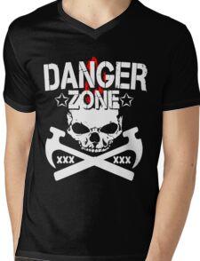 Danger Zone  Mens V-Neck T-Shirt