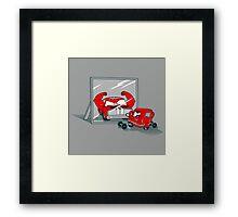 Muscle car Framed Print