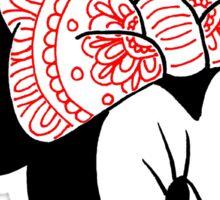 Mandala Minnie Mouse Sticker