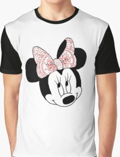 Mandala Minnie Mouse Graphic T-Shirt