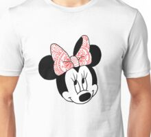 Mandala Minnie Mouse Unisex T-Shirt