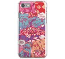 Sailor moon comic strip iPhone Case/Skin