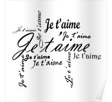 Je T'aime (I Love You) Poster