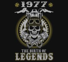 1977 - The birth of legends by shara1985