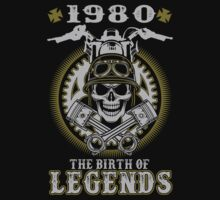 1980 - The birth of legends by shara1985
