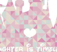 Laughter, Imagination, Dreams Sticker