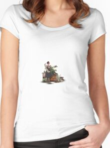 Just A Girl With Ideas Women's Fitted Scoop T-Shirt