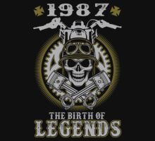 1987 - The birth of legends by shara1985