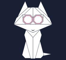 Origami Cat Kids Tee