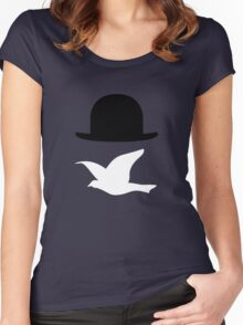 Rene Magritte 2 Women's Fitted Scoop T-Shirt