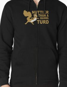 Nuttier Than A Squirrel Turd Funny Geek Nerd T-Shirt