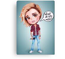 Justin Bieber - What Do You Mean (chibi) Canvas Print