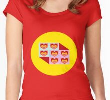 guild wars 2 love Women's Fitted Scoop T-Shirt