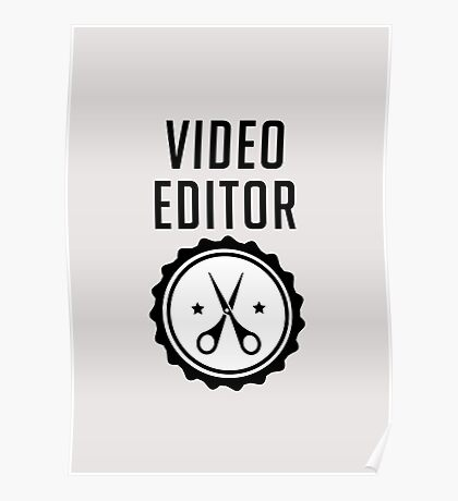 Video Editor Poster