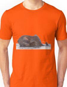 Swimming Elephant Unisex T-Shirt