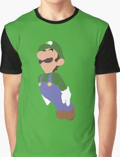 Smash Bros - Luigi Graphic T-Shirt