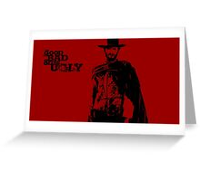 The Man With No Name - ONE:Print Greeting Card