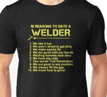 10 reason to date a welder Unisex T-Shirt