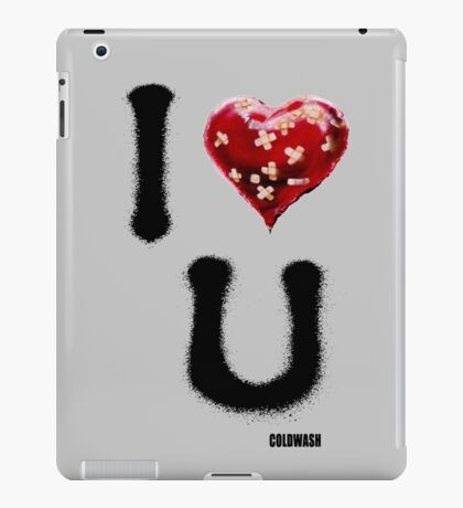 GRAFFITI LOVE iPad Case/Skin