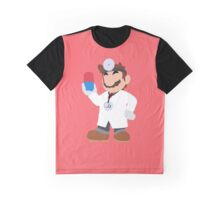 Smash Bros - Dr. Mario Graphic T-Shirt