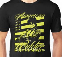AMERICAN WELDER NO REST FOR THE WICKED Unisex T-Shirt