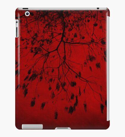 Burning Red Tree iPad Case/Skin