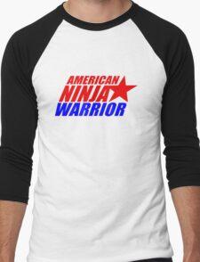 american ninja warrior Men's Baseball ¾ T-Shirt