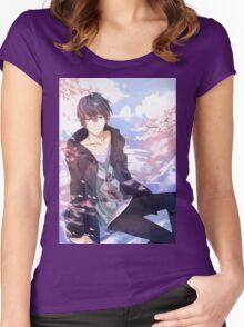 Super Sweet Haruka Women's Fitted Scoop T-Shirt