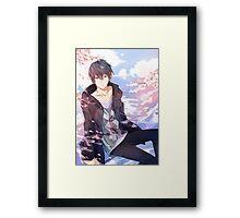 Super Sweet Haruka Framed Print