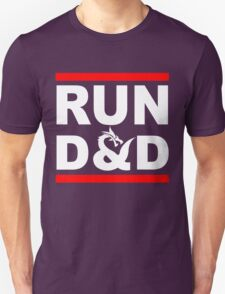 Run D&D Funny RPG T-Shirt
