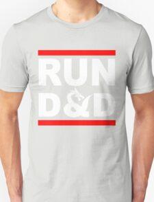 Run D&D Funny RPG T-Shirt