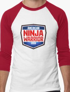 american ninja warrior Men's Baseball ¾ T-Shirt