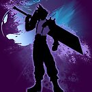 Super Smash Bros. Cloud Silhouette by jewlecho